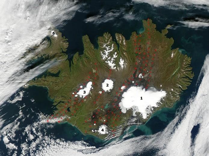 Islandia eta Jökulhaup hondamendiak