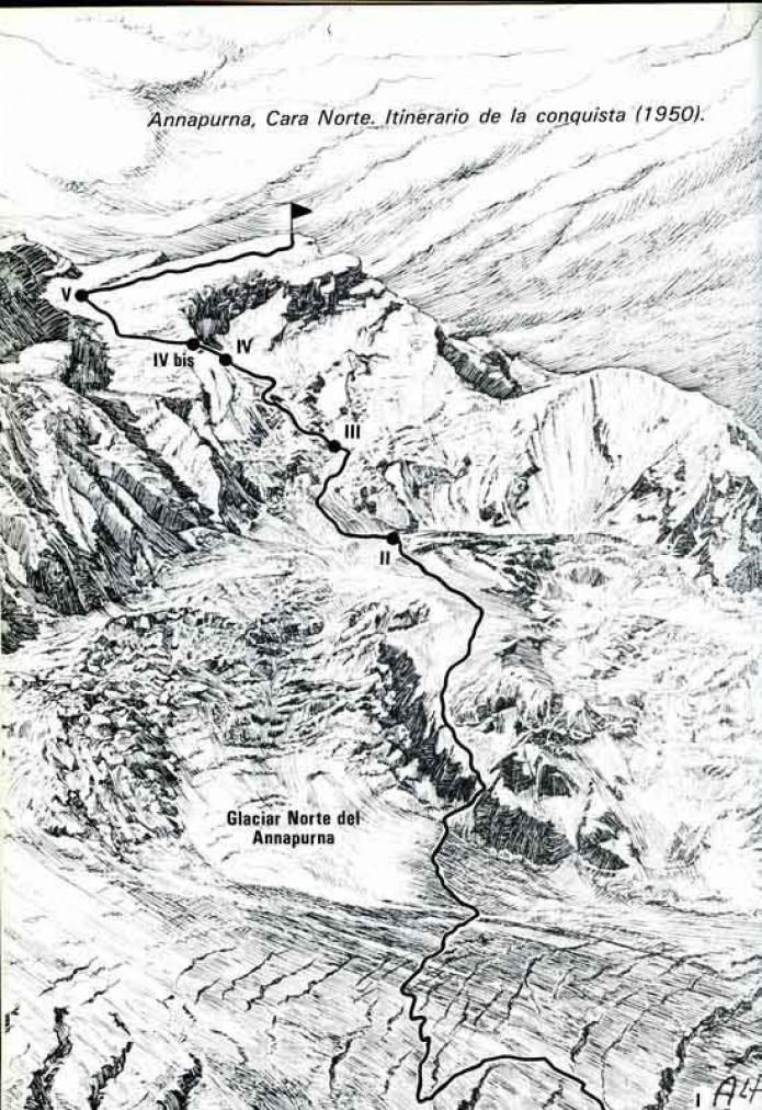 Annapurna, lehen zortzimilakoa