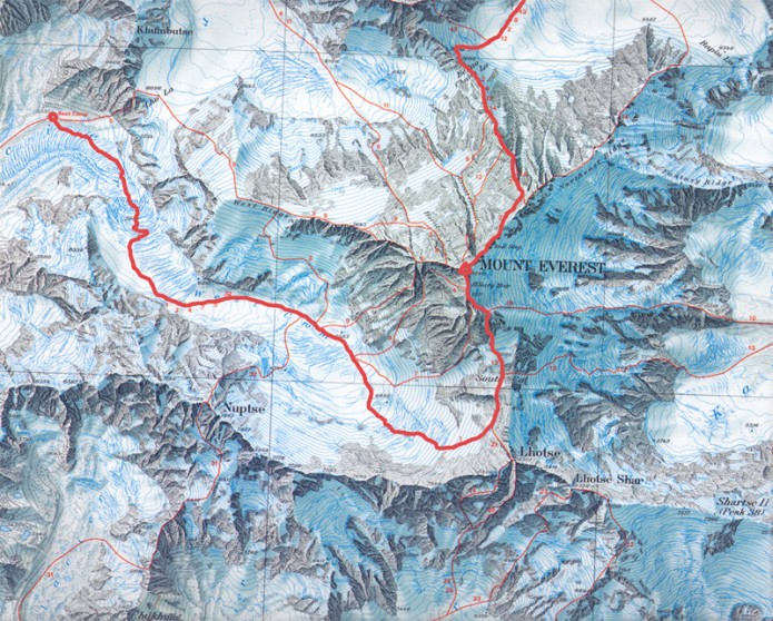 Sagarmatha - Chomolungma / Zeruaren aitzinaldea - Unibertsoaren ama