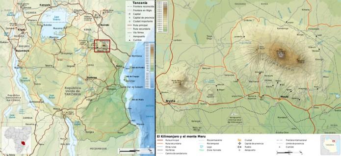 Kilimanjaro, Afrikako zerua