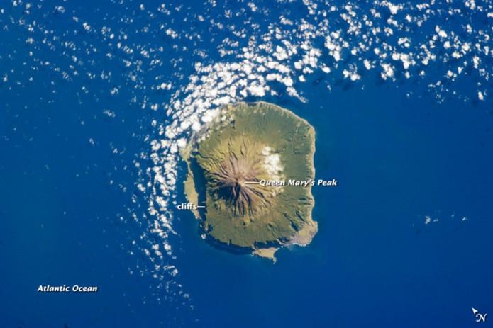 Tristan da Cunha, atlantikoan galduta dagoen uhartea